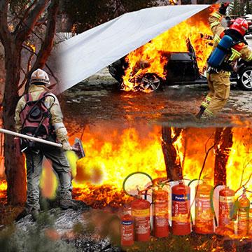 Attrezzattura antincendio e AIB